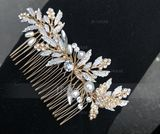 Ladies Beautiful Alloy Combs & Barrettes With Rhinestone (Sold in single piece) (042153831)