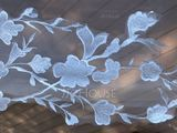 One-tier Lace Applique Edge Cathedral Bridal Veils With Applique/Lace (006235923)
