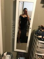 Trumpet/Mermaid Off-the-Shoulder Sweep Train Velvet Evening Dress With Split Front (271210399)