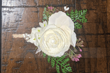 Hand-tied Artificial Flower Boutonniere (Sold in a single piece) - (123197552)