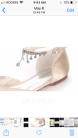 Women's Silk Like Satin Flat Heel Flats With Buckle Rhinestone (273201210)