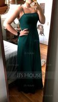 Square Neck Sleeveless Maxi Dresses (293250421)