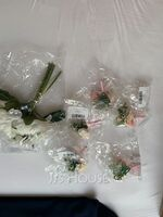 Classic Hand-tied Satin/Silk Flower Boutonniere (Sold in a single piece) - Boutonniere (123255946)