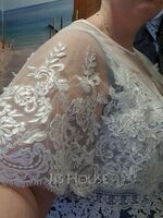Lace Tulle Wedding Wrap (013125011)