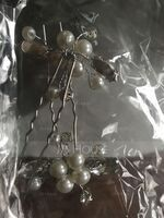 Ladies Lovely Alloy/Imitation Pearls Hairpins (Set of 2) (042123790)