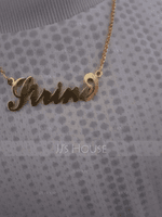 Custom 18k Gold Plated Carrie Name Necklace - Birthday Gifts Mother's Day Gifts (288211300)