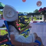 Ladies' Exquisite Cambric With Silk Flower Bowler/Cloche Hats/Kentucky Derby Hats/Tea Party Hats (196086557)