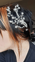 Beautiful Rhinestone/Alloy Tiaras (042255313)