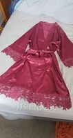 Lace Bride Bridesmaid Blank Robes Lace Robes (248195496)