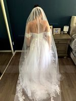 Ball-Gown/Princess Sweetheart Sweep Train Tulle Wedding Dress (002171937)