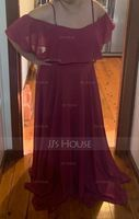 Sweetheart Floor-Length Chiffon Bridesmaid Dress (266204590)