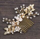 Ladies Elegant Alloy Combs & Barrettes (Sold in single piece) (042191833)