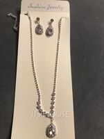 Ladies' Shining Alloy/Rhinestones Jewelry Sets (011253753)