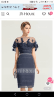 Sheath/Column Sweetheart Knee-Length Chiffon Cocktail Dress With Ruffle Beading (270194138)