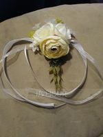Hand-tied Artificial Flower Wrist Corsage (Sold in a single piece) - (123197551)