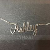 Bridesmaid Gifts - Personalized Fascinating Copper Name Necklace (256215314)