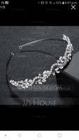 Elegant Alloy Tiaras/Headbands (Sold in single piece) (042093669)