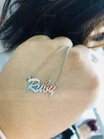[Free Shipping]Custom Letter Carrie Name Necklace - Birthday Gifts Mother's Day Gifts (288211299)