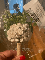 Free-Form Satin Bridal Bouquets (Sold in a single piece) - (123132744)