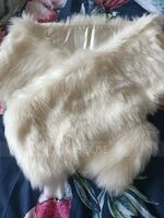 Faux Fur Wedding Wrap (013187063)
