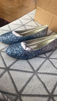 Women's Sparkling Glitter Flat Heel Flats With Others (047155127)
