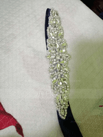 Elegant Satin Sash With Rhinestones (015205505)