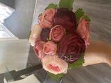 Vivifying Round Bridesmaid Bouquets - (123205652)