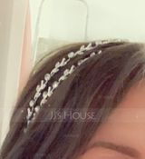 Ladies Beautiful Rhinestone/Alloy Headbands (042114455)