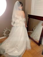 Ball-Gown Sweetheart Sweep Train Tulle Wedding Dress (002171937)