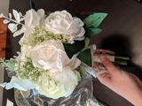 Hand-tied Silk Flower Bridal Bouquets (Sold in a single piece) - (123182689)