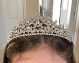 Ladies Beautiful Rhinestone/Alloy Tiaras (042107521)