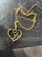 Custom 18k Gold Plated Heart Name Necklace - Birthday Gifts Mother's Day Gifts (288211312)