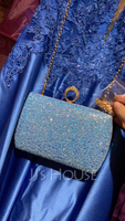 Sequin/Sparkling Glitter/Abrasive Cloth Clutches/Satchel (012139083)