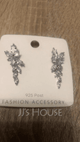 Ladies' Elegant Zircon Earrings For Bride/For Bridesmaid/For Mother (011234518)