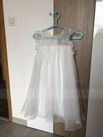 A-Line Knee-length Flower Girl Dress - Chiffon Short Sleeves Scoop Neck With Lace (010093248)