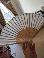 Simple Bamboo Hand fan (051219014)