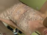 Trumpet/Mermaid V-neck Sweep Train Stretch Crepe Prom Dresses With Beading Sequins (018220238)