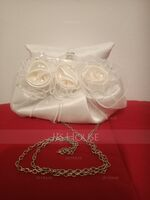 Gorgeous Silk/Tulle Clutches/Satchel/Bridal Purse/Evening Bags (012013430)