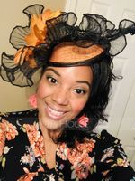 Ladies' Beautiful Cambric/Feather With Feather Fascinators/Kentucky Derby Hats (196154304)