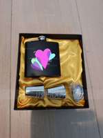 Groomsmen Gifts - Personalized Vintage Stainless Steel Flask (258173678)