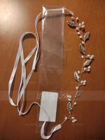 Ladies Special Alloy Headbands With Rhinestone/Venetian Pearl (Sold in single piece) (042171463)