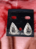 Beautiful Alloy/Rhinestones Ladies' Earrings (011123806)