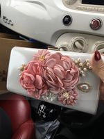 Elegant Satin Clutches/Wristlets/Satchel (012141816)