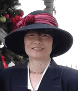 Ladies' Fashion/Special/Glamourous Wool/Velvet With Bowknot Bowler/Cloche Hat (196192285)