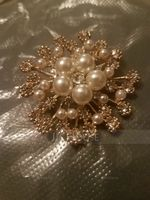 Hottest Alloy/Rhinestones/Imitation Pearls With Rhinestone Ladies' Brooch (011201111)