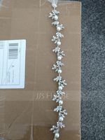 Fashion Crystal/Imitation Pearls Headbands With Venetian Pearl/Crystal (Sold in single piece) (042200775)