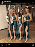 Round Satin Bridal Bouquets/Bridesmaid Bouquets (Sold in a single piece) - (123165782)