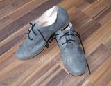 Men's Suede Flats Ballroom With Lace-up Dance Shoes (053107970)