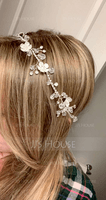 Elegant Crystal/Rhinestone Headbands With Rhinestone/Crystal (Sold in single piece) (042192923)