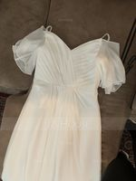 A-Line Off-the-Shoulder Floor-Length Chiffon Junior Bridesmaid Dress With Ruffle (009208584)